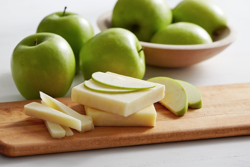 Fawn Design Blog - Best Pregnancy Snacks - Apples and Cheese