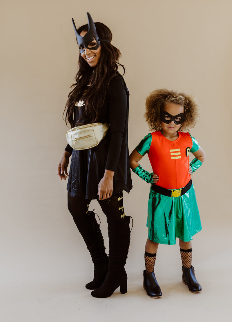 Fawn Design Halloween Costume Contest: Bat Girl and Robin