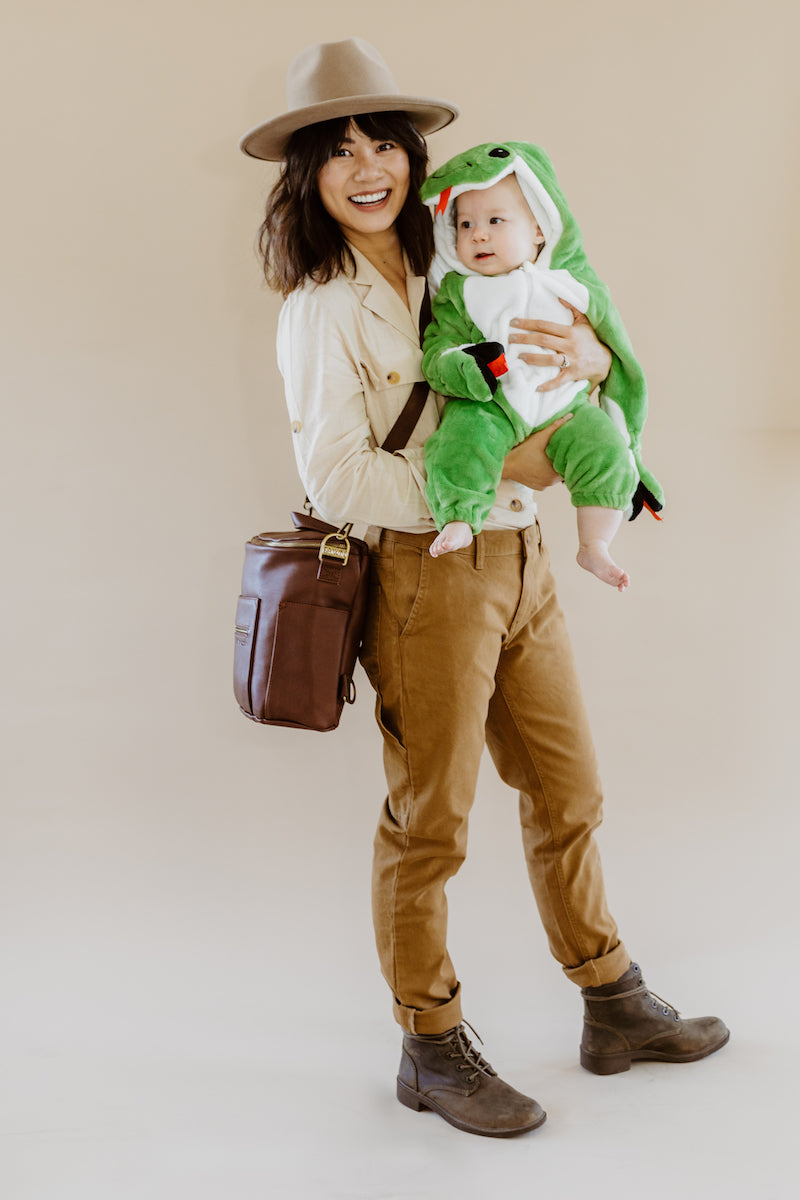 Fawn Design Halloween Costumes: Indian Jones and Baby Snake