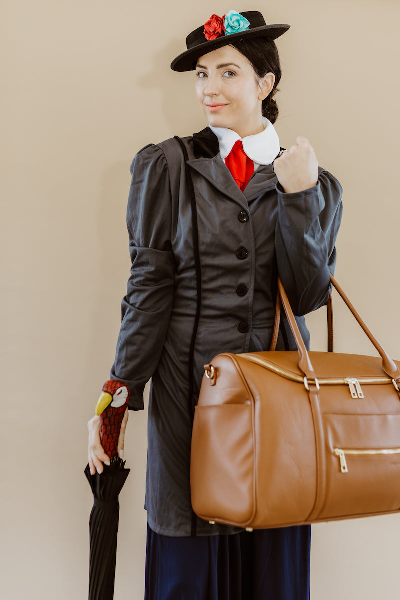 Fawn Design Halloween Costume Contest: Mary Poppins with the Weekender Bag