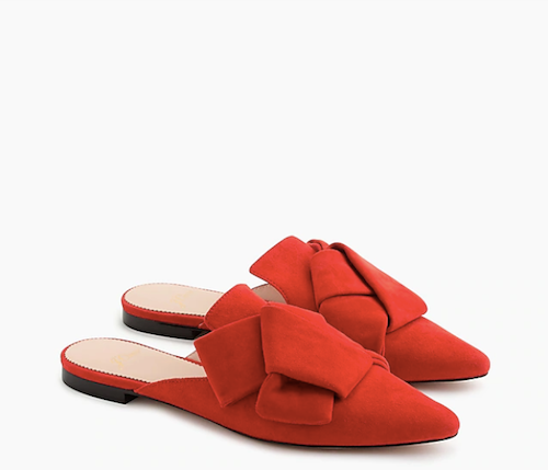 Fawn Design Holiday Gift Guide for Her - J.Crew Pointed Toe Slides