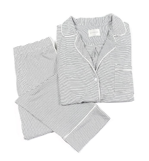 Fawn Design Holiday Gift Guide for Her - Maison Du Soir Striped Pajama Set