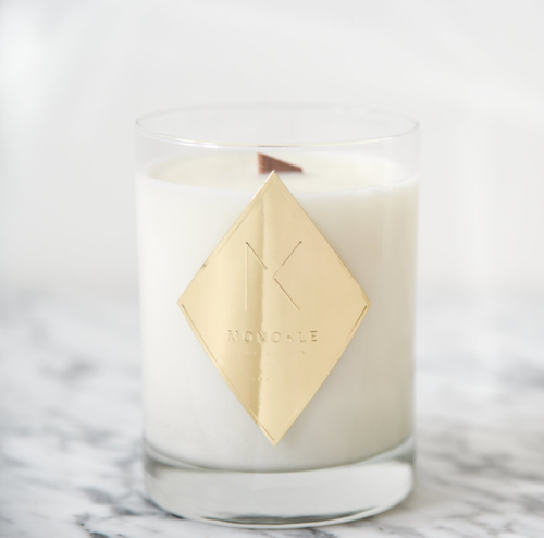 Fawn Design Holiday Gift Guide for Her - Monokle Collection Candle