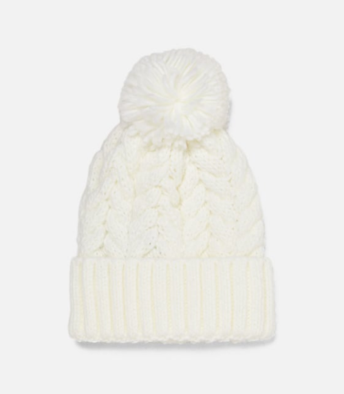 Fawn Design Holiday Gift Guide for Her - Zara PomPom Beanie