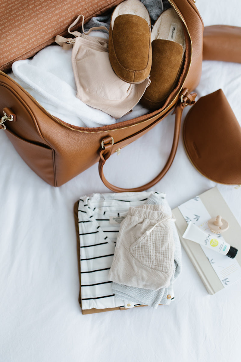 Fawn Design - Hospital Bag Checklist - Weekender Bag