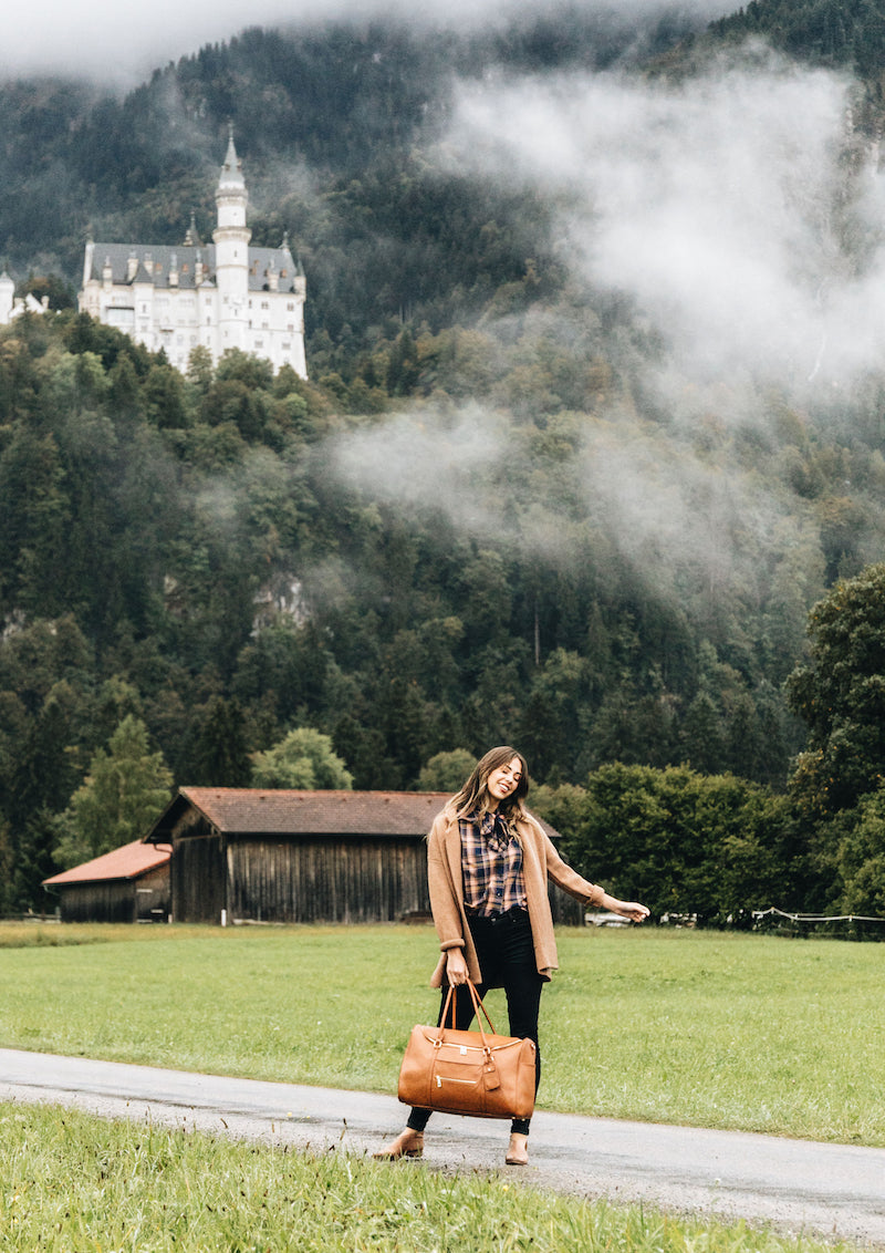 Fawn Design Munich Travel Guide - The Weekender Bag - Fawn Design Travel Collection