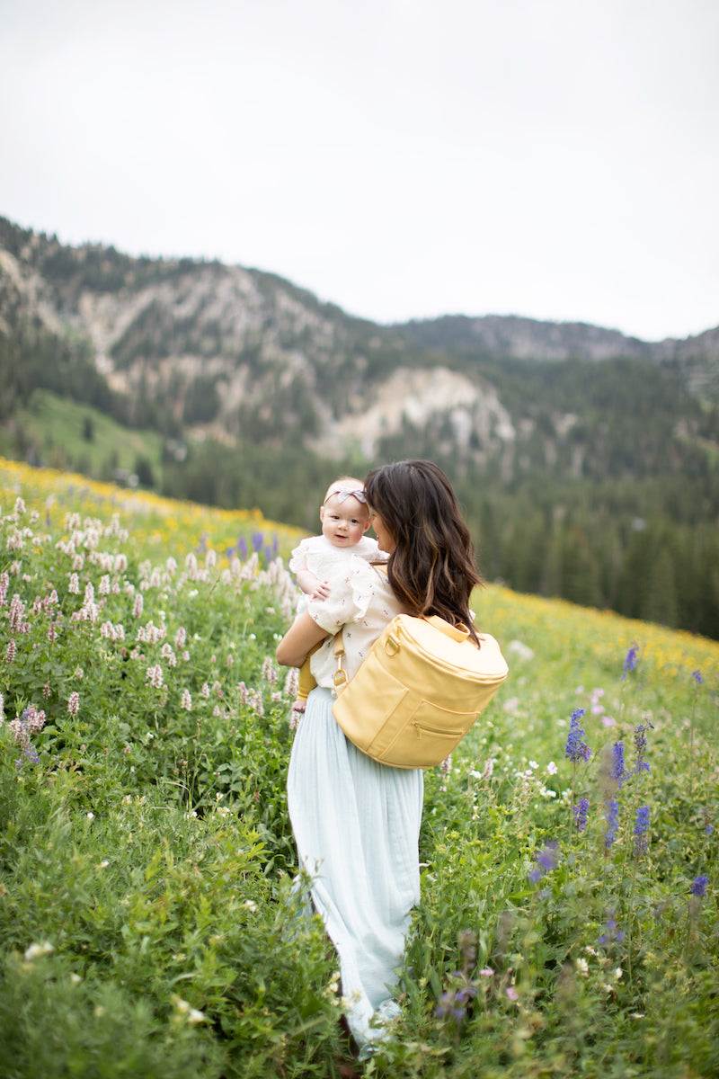 Fawn Design SS20 Wildflower Collection - Buttercup Original Diaper Bag