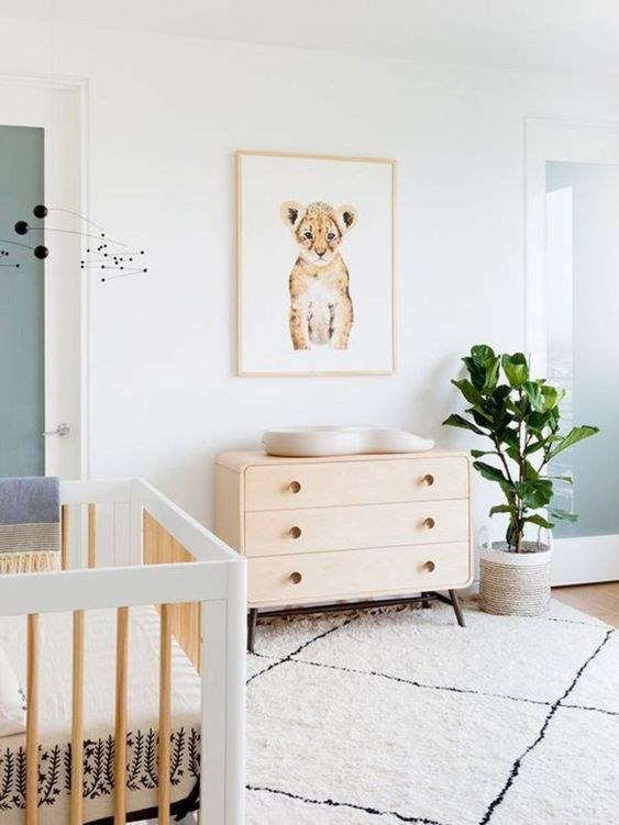 How to Decorate a Baby Nursery - Fawn Design Blog