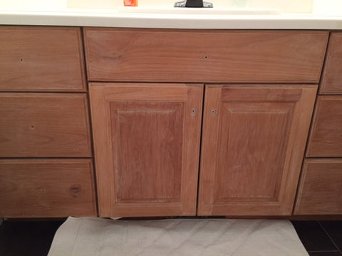 Bathroom Cabinets Before