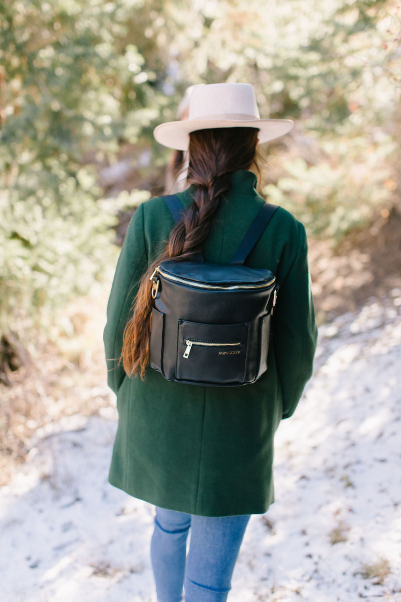 Fawn Design Mini Backpack in Black