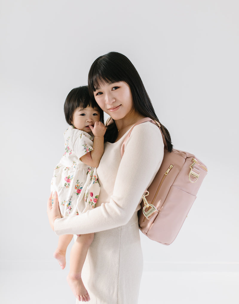 Fawn Design Original Diaper Bag in Blush