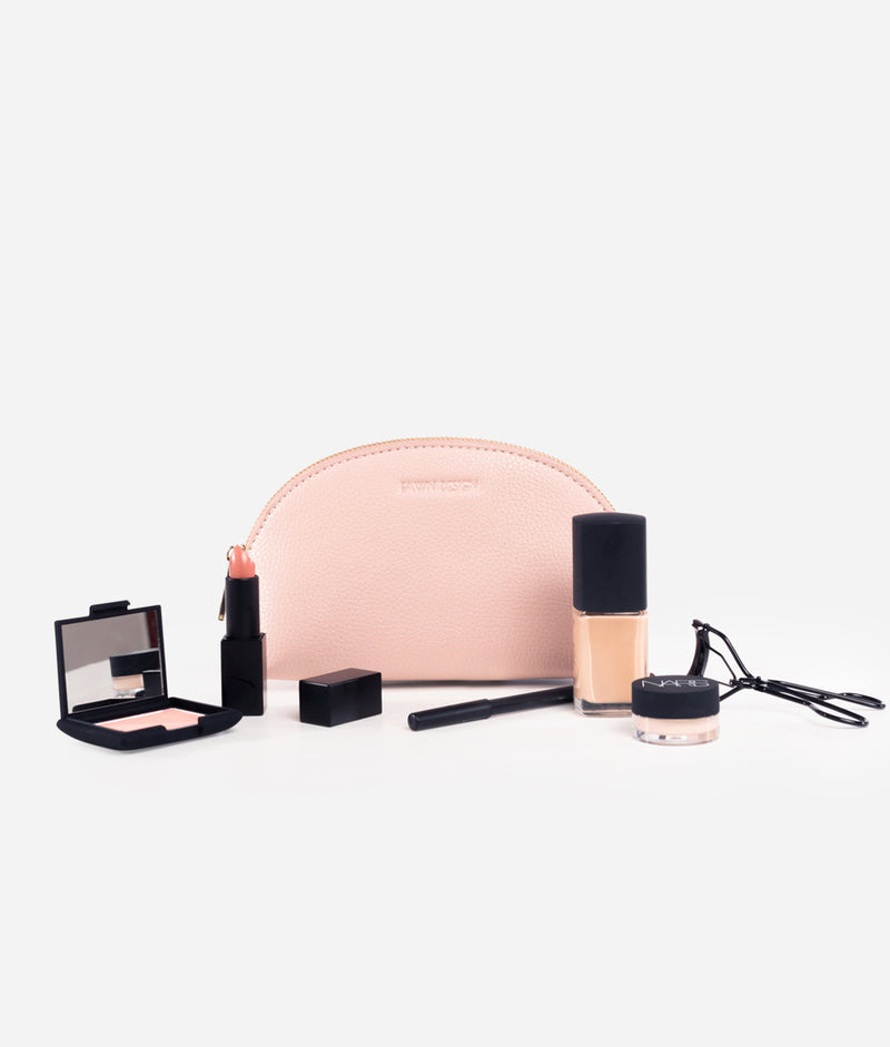 The Cosmetic Bag - Blush (Small)