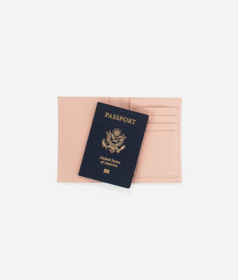 The Passport Wallet - Blush