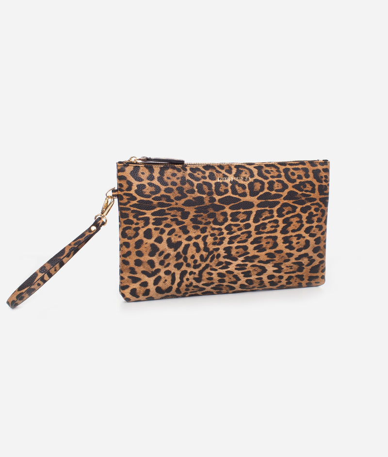 The City Clutch - Leopard