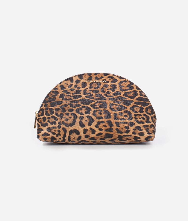 The Cosmetic Bag - Leopard (Large)