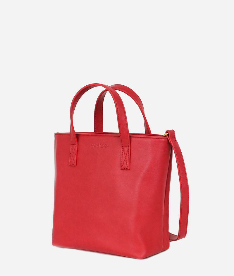 The Mini Tote - Holly Berry