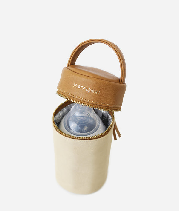 The FD + Anthropologie Bottle Bag - Tan