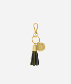 The Tassel Keychain - Moss