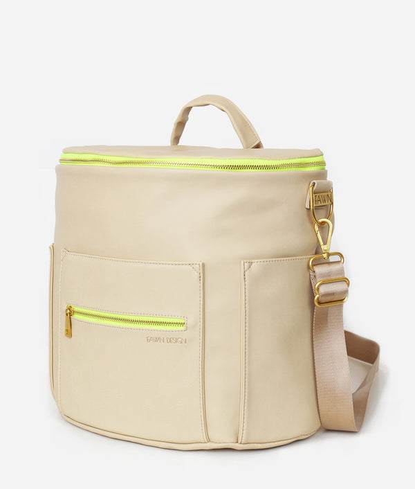 The Original Diaper Bag - Neon Yellow