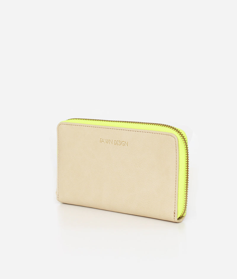 The Wallet - Neon Yellow