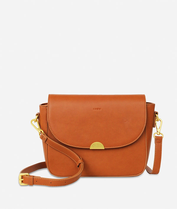 The Shoulder Bag - Brown