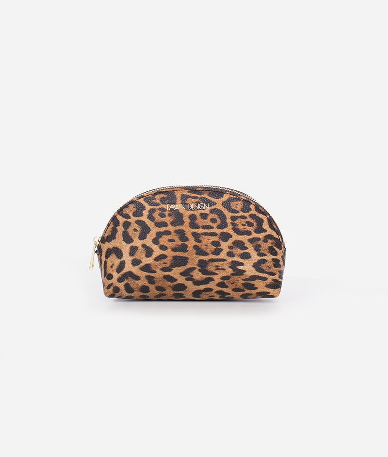 The Cosmetic Bag - Leopard (Small)