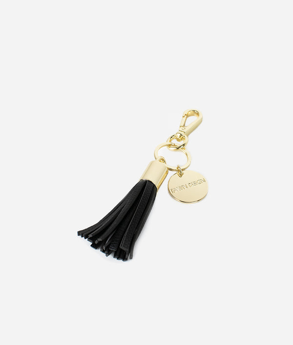 The Tassel Keychain - Black