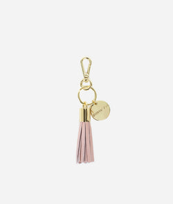 The Tassel Keychain - Blush