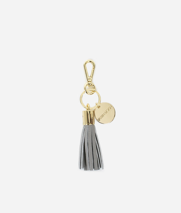 The Tassel Keychain - Gray