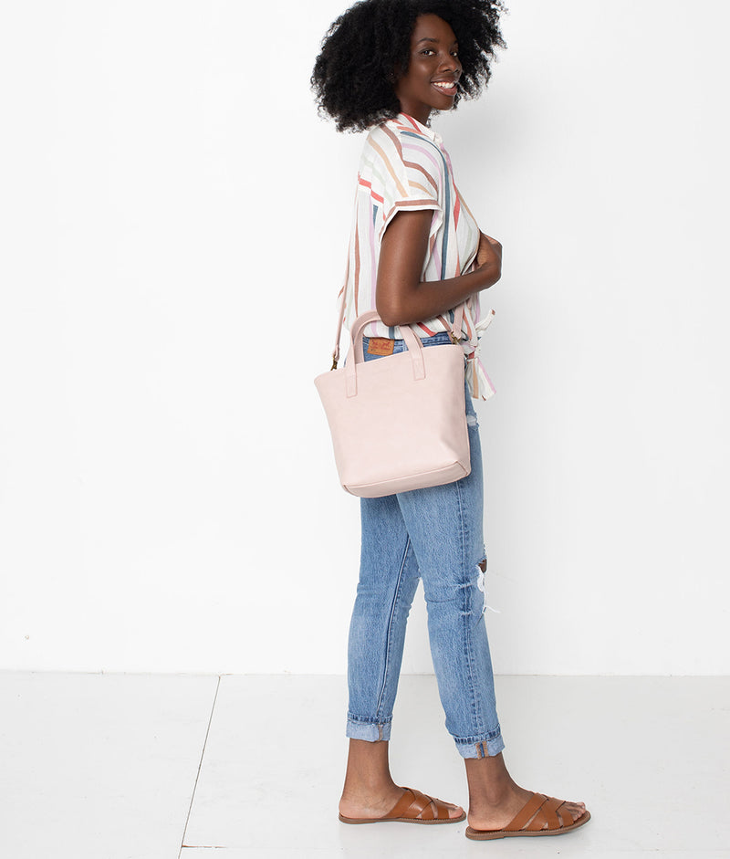 The Mini Tote - Blush