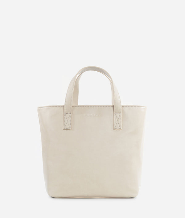 The Mini Tote - Bone