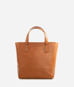 The Mini Tote - Brown