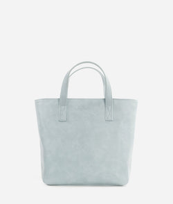 The Mini Tote - Dusty Blue