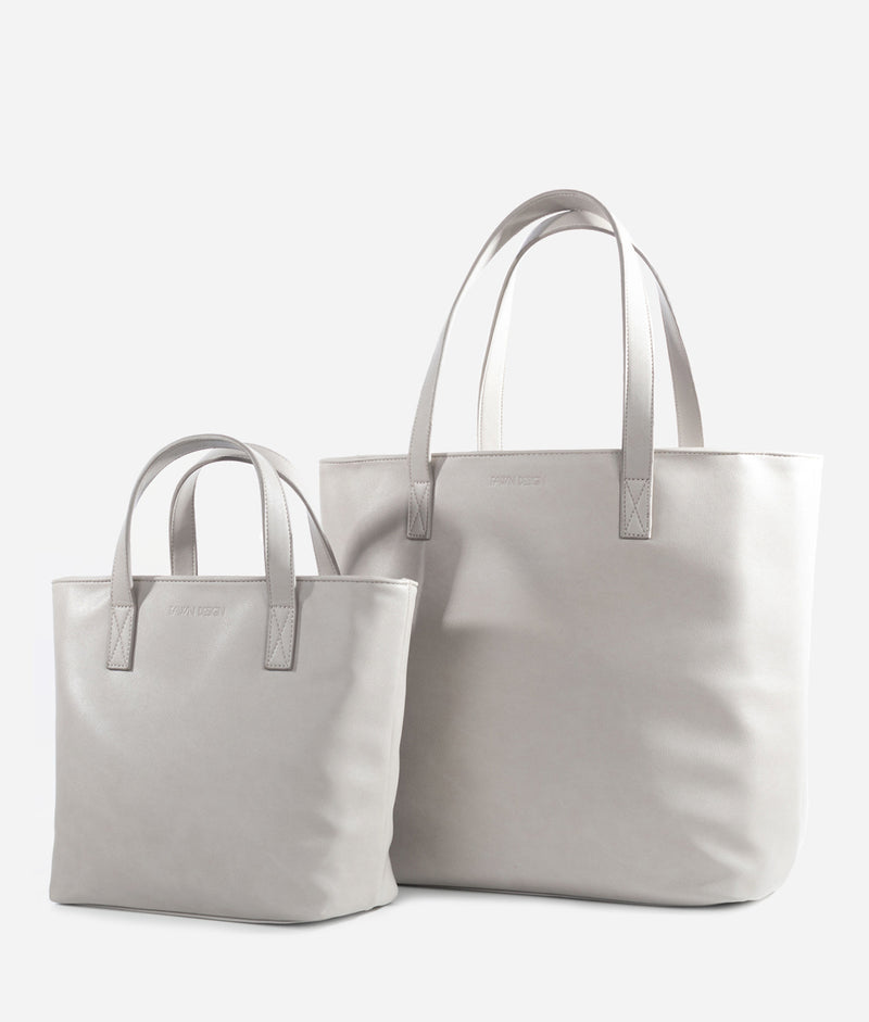 The Mini Tote - Gray