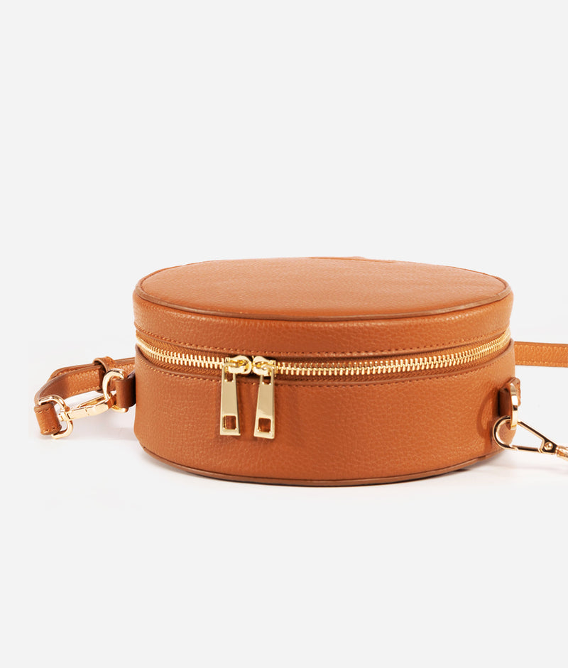 The Circle Bag - Brown