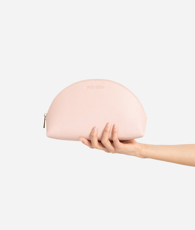 The Cosmetic Bag - Blush (Large)