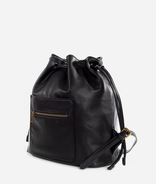 The Drawstring Bag - Black
