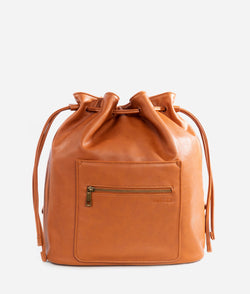 The Drawstring Bag - Brown