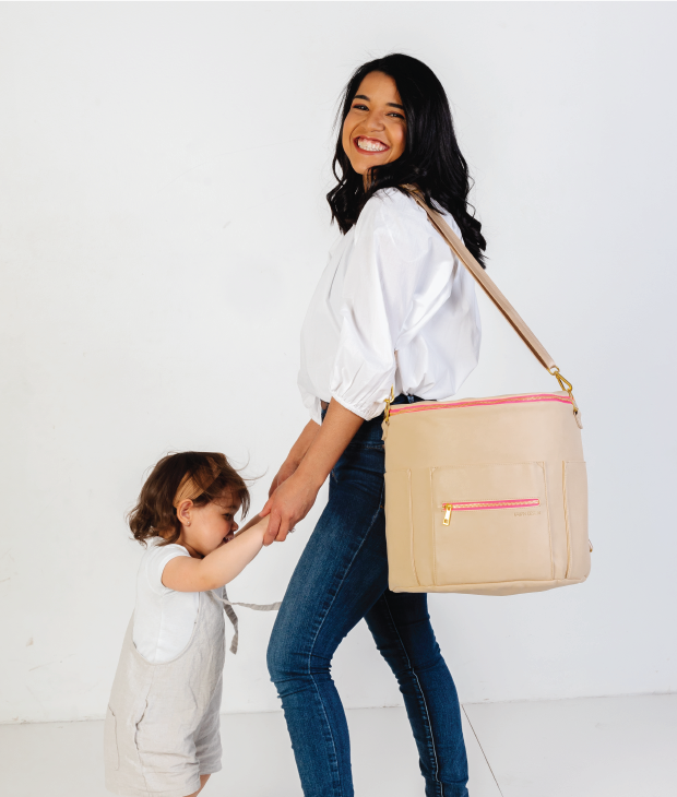 The Original Diaper Bag - Neon Pink