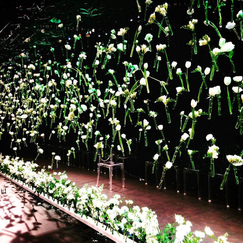 White & Green Tomuri & Co NZFW Floral Design Wedding She Wrote