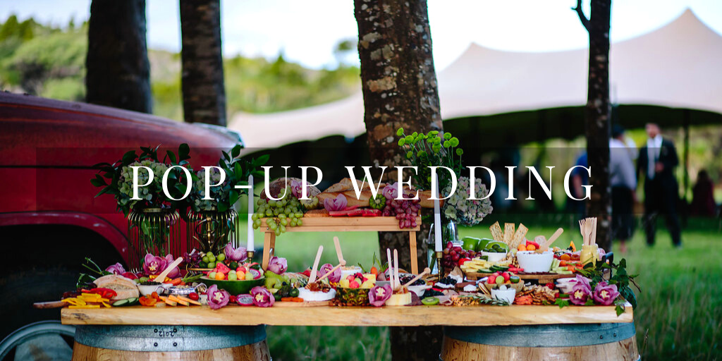 Wedding She Wrote - Wedding Experiences - Pop-up Wedding