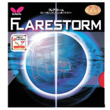 Butterfly Flarestorm Pips-Out Rubber