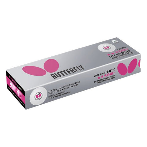 Butterfly 3-Star Ball G40+ (Made in Germany)