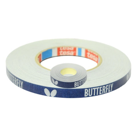 Butterfly Side Tape Cloth Blue/Silver 50m x 12mm
