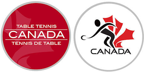 Official Table Tennis Canada Logo Coin