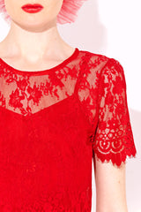 About A  Girl Lace Top