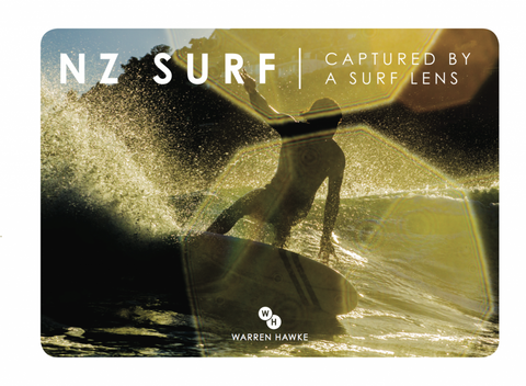 NZ Surf Captured By a Surf Lens - Warren Hawke