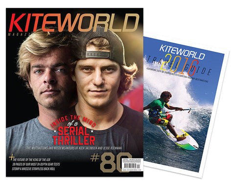 Kiteworld Magazine #80 + Travel Guide!
