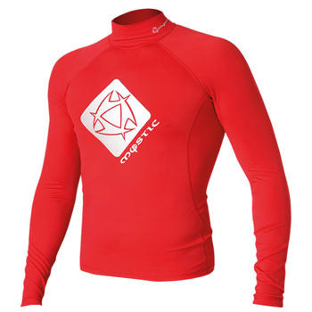 SPECIAL Mystic Star Rash Vest L/S Red SALE!