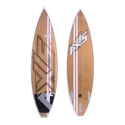 "Axis Wood Pro Wave Kite Surfboard 6'0"" Thruster  SALE"
